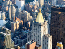 Midtown New York City incluindo o clássico Life Building Nova Iorque