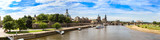 Fototapety Panoramic view of Dresden