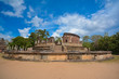 Постер, плакат: Polonnaruwa Ancient Vatadage That Is An Ancient Structure Built For Hold The Tooth Relic Of The Buddha	 Polonnaruwa Is The second most ancient of Sri Lankas kingdoms