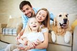 Happy family - Fine Art prints