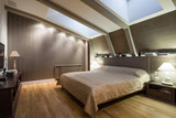 Fototapety Interior of a specious luxury bedroom