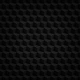 Black cubes 3D render - geometric pattern background