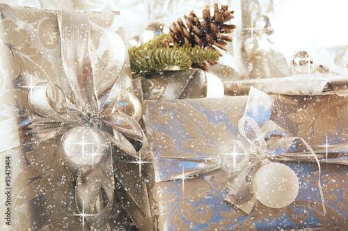 Naklejka Weihnachtsgeschenke