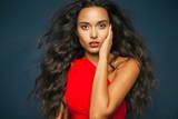 Fototapety Long hair beauty