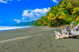 Fototapety Wild beach at Corcovado Jungle in Costa Rica
