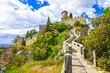 scenic Italy series - San Marino, view with castle