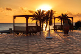 sunset in Marsa Alam, red sea, Egypt - 93512485