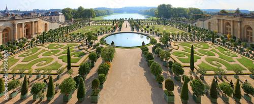Ch teau de versailles orangerie photo libre de droits for Versailles jardin gratuit