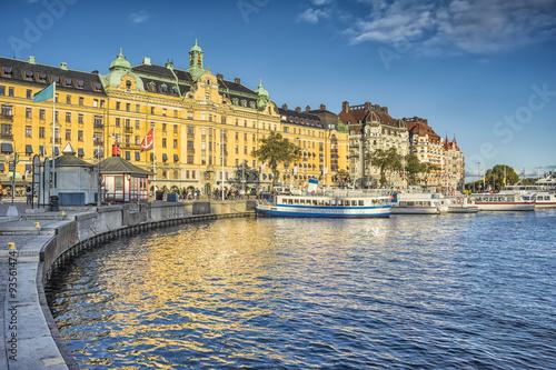 Zdjęcia Stockholm harbor