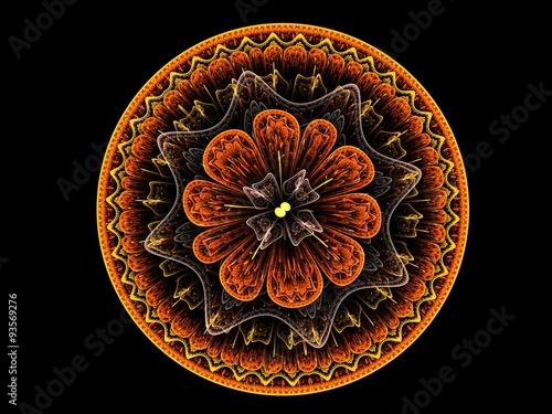 Floral mandala - 93569276