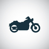 Fototapety motorcycle icon.