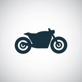 Fototapety motorcycle icon
