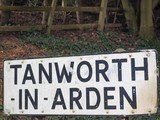 Tanworth in Arden sign poster