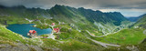 Great panorama of Transfagarasan road