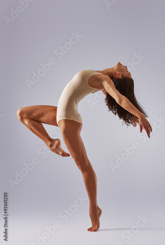 Poster dancer ballerina