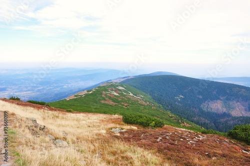 Jesień w górach, Karkonosze w Polsce - 93668099