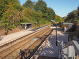 Wood End station in Tanworth in Arden poster