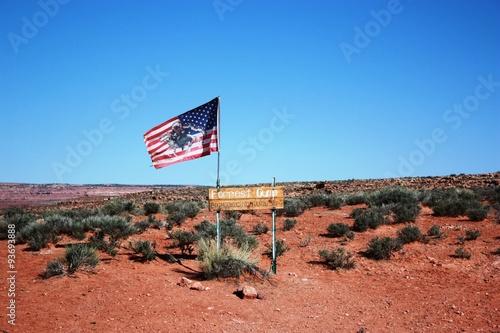 Poster Forrest Gump highway 163 in Utah, USA