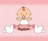 baptism invitation design