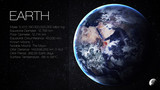 Fototapety Earth - High resolution Infographic presents one of the solar