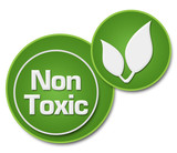 Non Toxic Two Green Circles  - 93765093