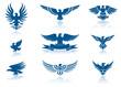 Eagles Silhouettes Set