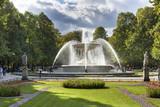 Fototapety Fountain in the Saski City Garden, Warsaw, Poland