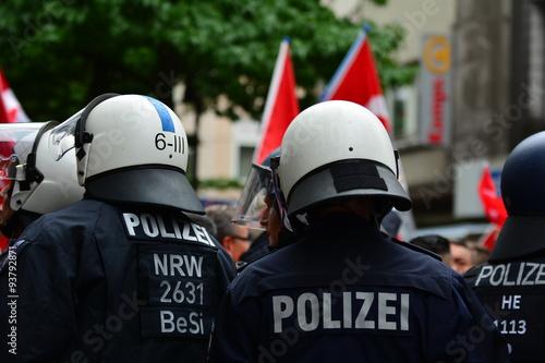 Foto op Aluminium Beijing German Police