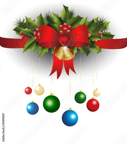 weihnachtsdeko weihnachtsdekoration kugel kugeln mistel stechpalme fichte tannenzweig. Black Bedroom Furniture Sets. Home Design Ideas