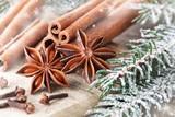 Fototapety Weihnachten - Gewürze