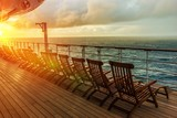 Cruise Ship Deck Chairs - 93883685