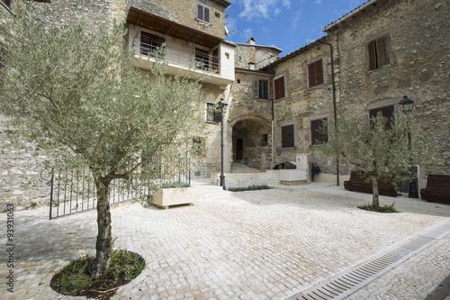 Village in Umbria, Italy, Europe