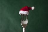 Fototapety Weihnachtsessen