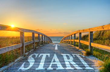 Start-Weg