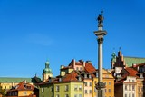 Fototapety Old town architecture square landmark in warsaw