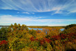Minnesota Autumn / Lake Pippin in Minnesota in Autumn