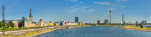 Fototapeta Panorama of Dusseldorf