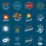 biggest collection of vector logos for fireworks