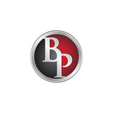 BP initial circle logo red
