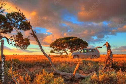 obraz PCV Nullarbor Plain, Australia