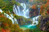 Fototapety The waterfalls of Plitvice National Park