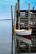 Dinghy and dock