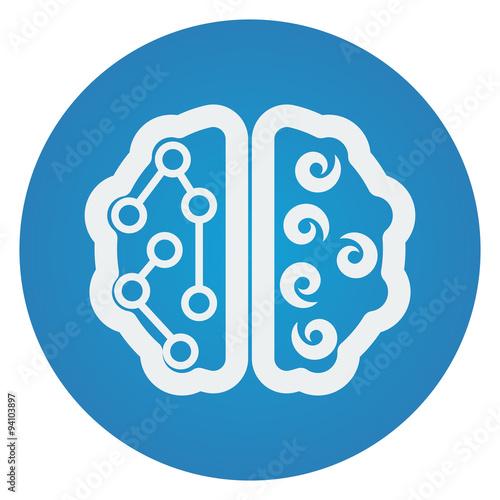 flat brain icon - photo #36