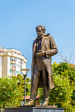 Statue of Ibrahim Rugova in Pristina - Kosovo poster