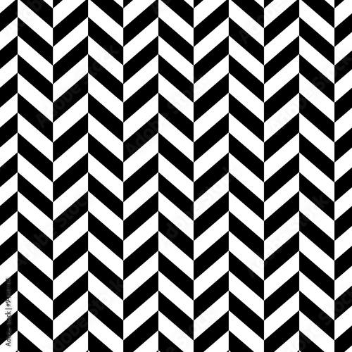 mata magnetyczna Classic Seamless Chevron Pattern