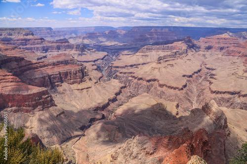 Poster malerische Farben und Felsformationen im Grand Canyon