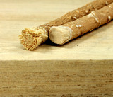 baumwurzelzweig vom zahnbürstenbaum miswak