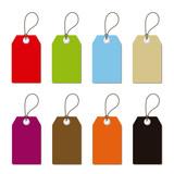 Etiquetas rectangulares para precios