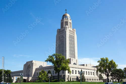 Poster Nebraska State Capitol