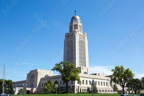Nebraska State Capitol плакат
